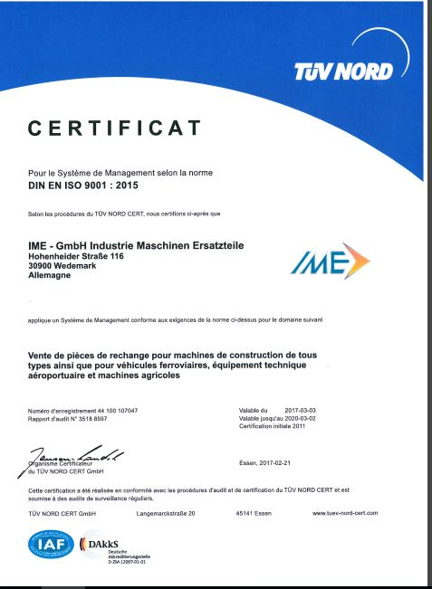 certificat-ISO-francais