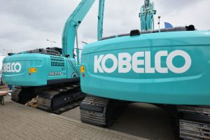 Kobelco spare parts for excavators