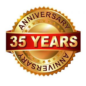 Firmenjubiläum 35 Jahre