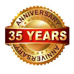 Anniversaire 35 années