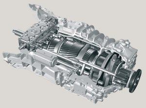 механическая коробка передач ZF